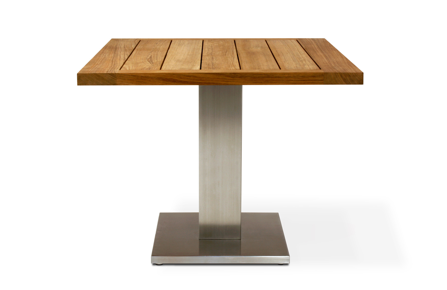 Singular Table with teak tabletop