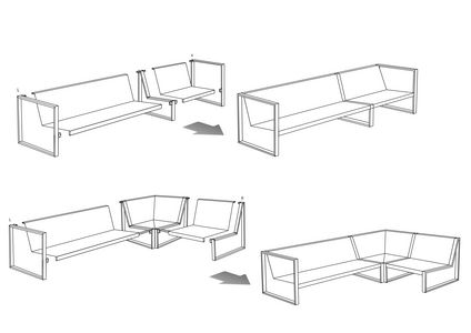 Lounge configuration (Modular System), click to enlarge