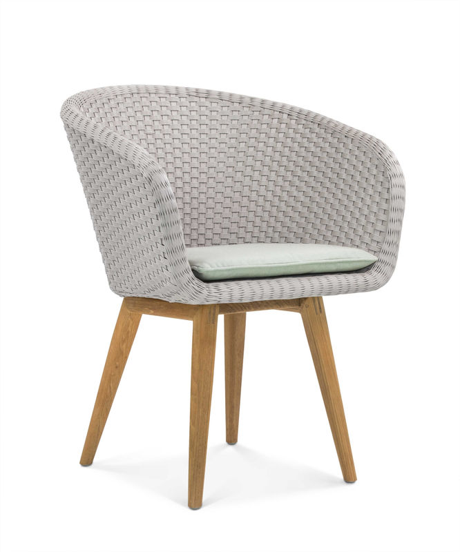 Amazing Shell Chair Teak Shell Collection Fueradentro Outdoor Machost Co Dining Chair Design Ideas Machostcouk