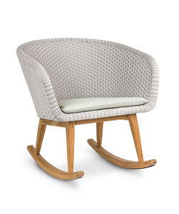 Shell Rocking Chair Teak