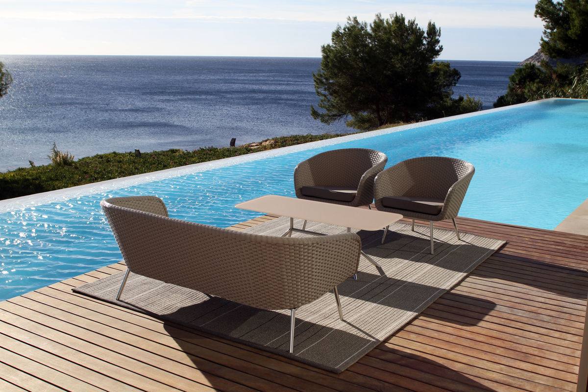 shell easy chair - shell collection | fueradentro - outdoor design ... - Designer Patio Furniture