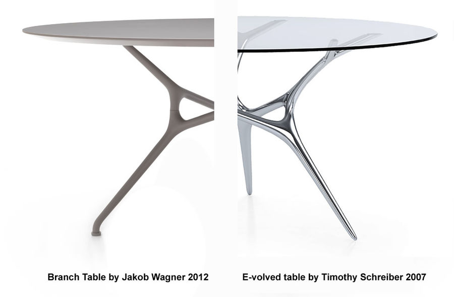 economico per lo sconto vendite speciali all'ingrosso online Cappellini Branch Table by Jakob Wagner copy of E-volved table ...