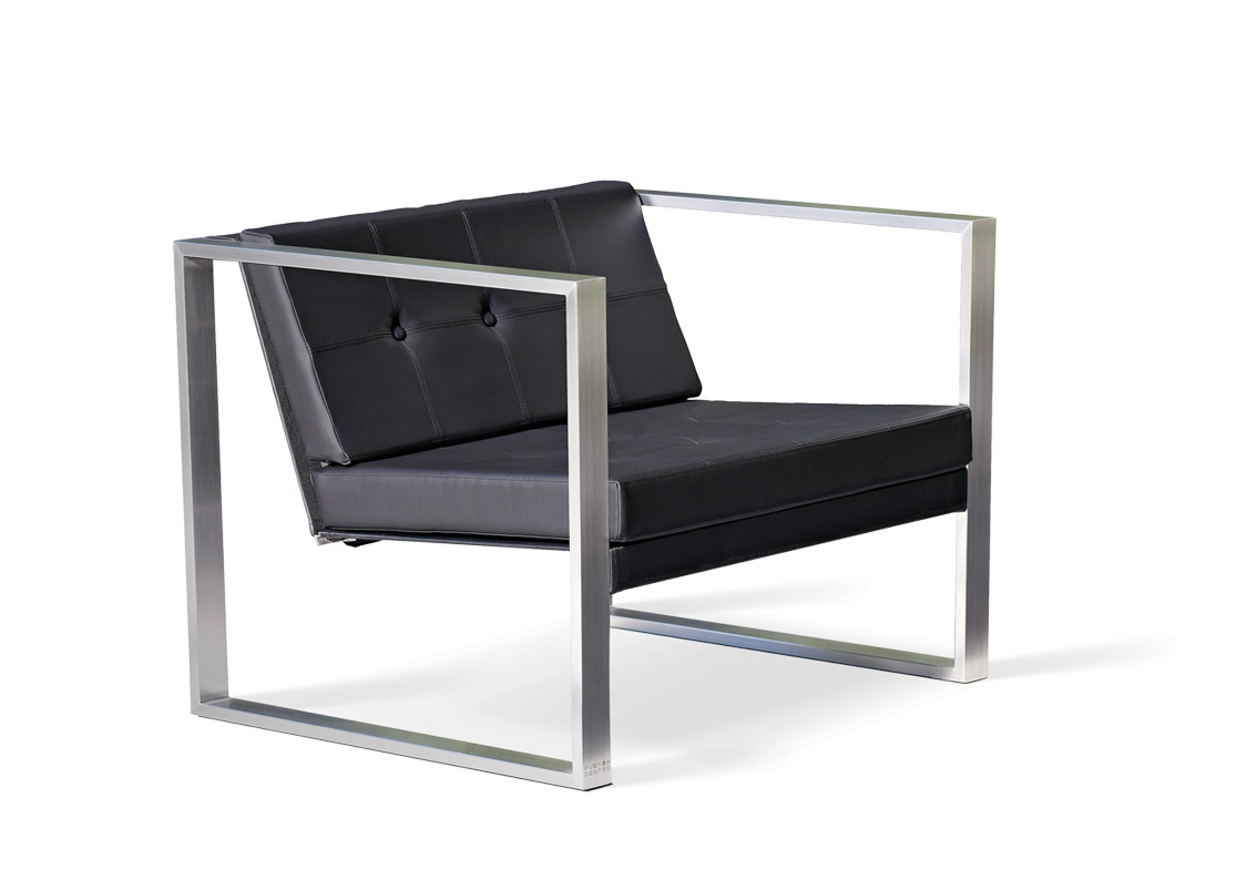 Poltrona Mies Van Der Rohe.Poltrona Lounge Cima Lounge Collection Fueradentro