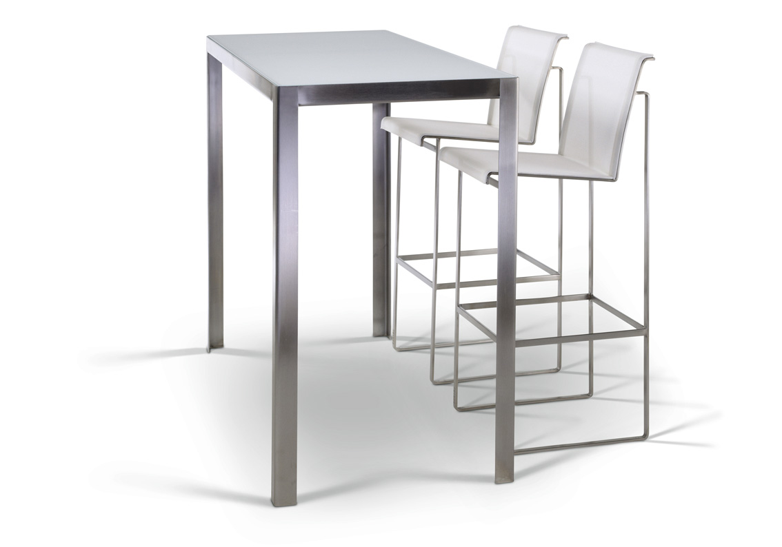 Nimio bar 140 190 cima collection fueradentro - Table haute exterieure ...