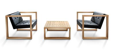 New Teak Salon Tables Fueradentro Designade Utemobler