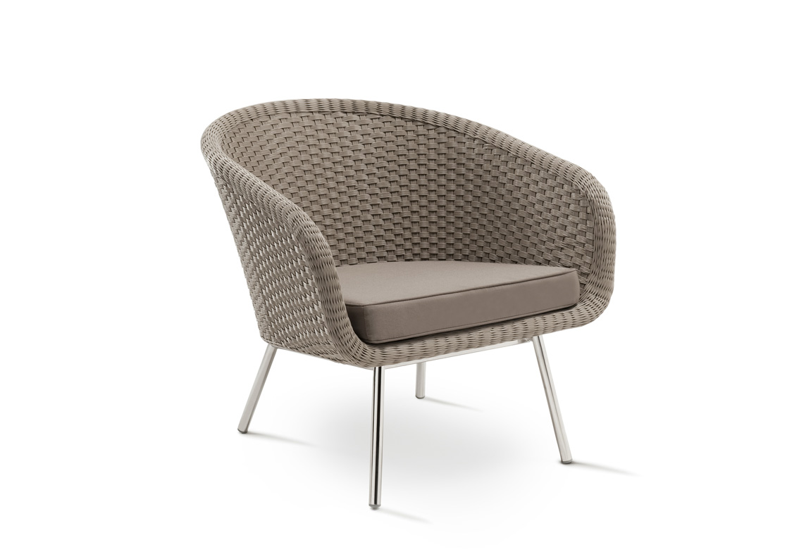 Shell easy chair shell collection fueradentro for Easy chair designs